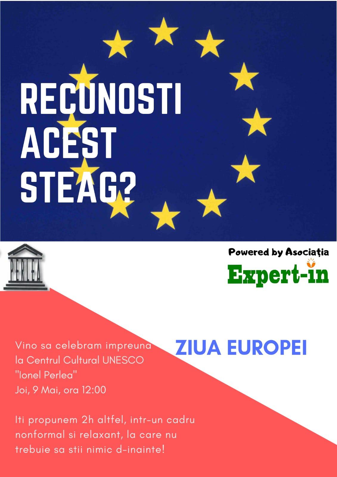 Ziua Europei, 09 mai 2019, ora 12.00
