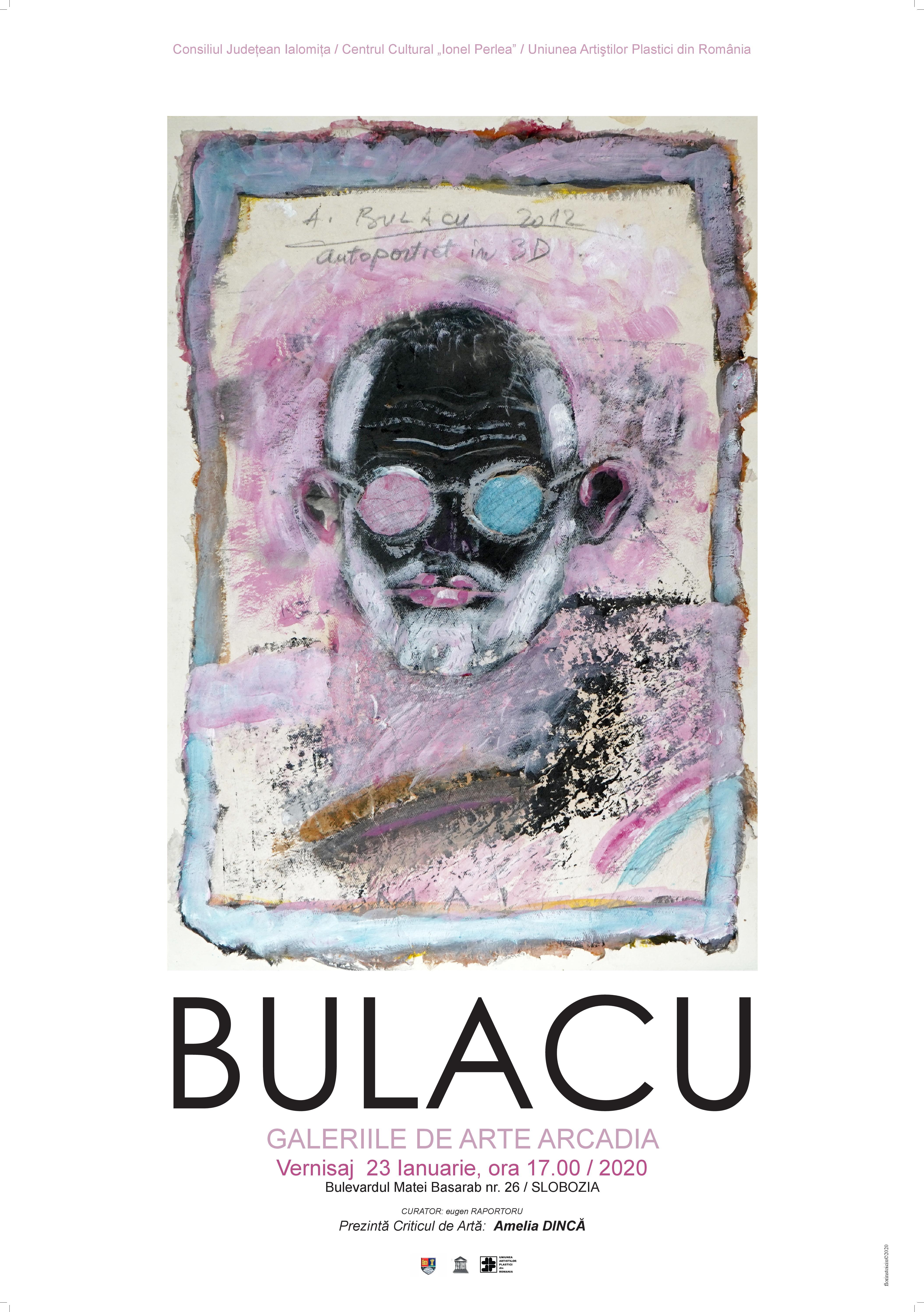 """Expoziție de pictură Aurel Bulacu, 23 ianuarie 2020, ora 17:00, Centrul Cultural ,,Ionel Perlea"""""""