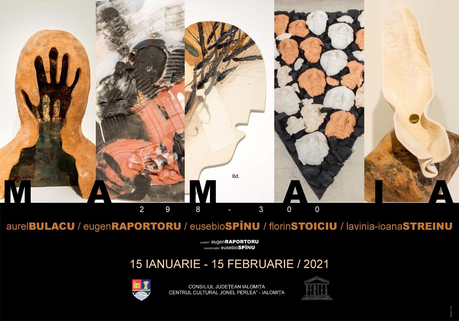 """Expoziţie de arte vizuale, 15 ianuarie – 15 februarie 2021, Galeriile Arcadia, Centrul Cultural ,,Ionel Perlea"""""""